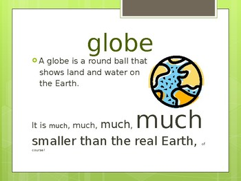All About the Globe