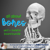 All About the Human Skeletal System - unit & bulletin bundle
