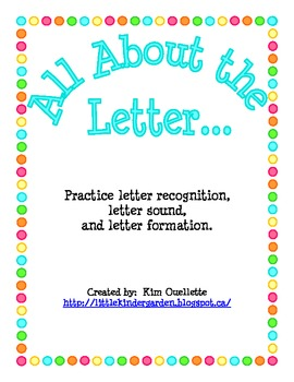 All About the Letter....