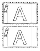 All About the Letter A Booklet
