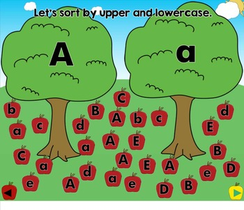 All About the Letter A - Letter of the Week SMARTBoard Activities!
