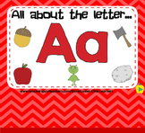 All About the Letter A - Letter of the Week SMARTBoard Act