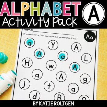 Letter A Activities