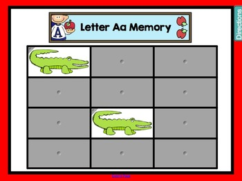 All About the Letter Aa for SMARTboard