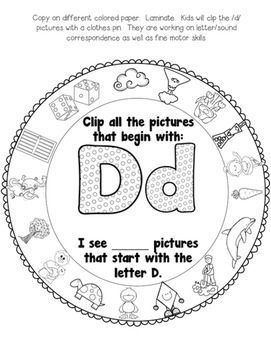 All About the Letter D!