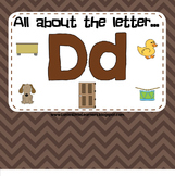 All About the Letter D (Letter of the Week SMARTBoard Activities)