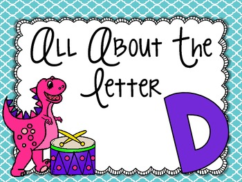 All About the Letter Dd
