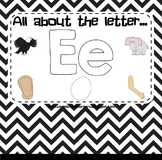 All About the Letter E (Letter of the Week SMARTBoard Activities)