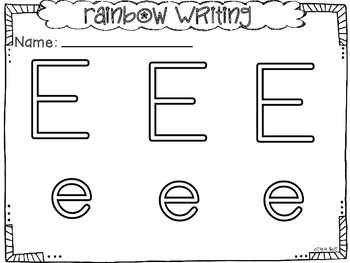 All About the Letter Ee