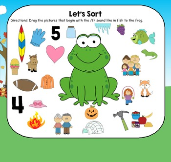 All About the Letter F - Letter of the Week SMARTBoard Activities!