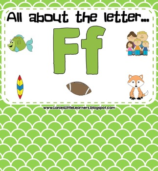 All About the Letter F - Letter of the Week SMARTBoard Act