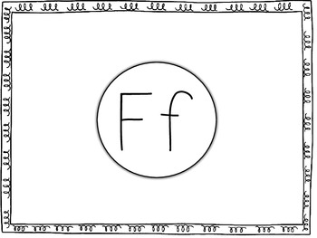 All About the Letter Ff