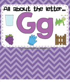 All About the Letter G - Letter of the Week SMARTBoard Activities!