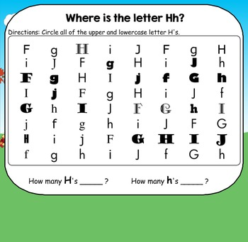 All About the Letter H - Letter of the Week SMARTBoard Activities!