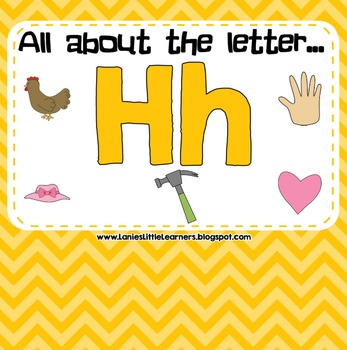 All About the Letter H - Letter of the Week SMARTBoard Act