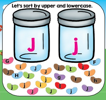 All About the Letter Jj {Letter of the Week SMARTboard Activities}