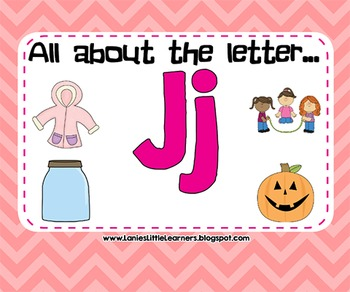 All About the Letter Jj {Letter of the Week SMARTboard Act