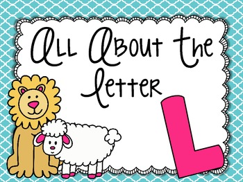 All About the Letter Ll