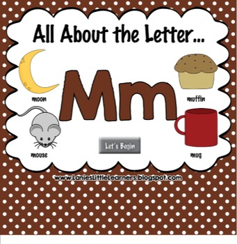 All About the Letter Mm {Letter of the Week SMARTboard Act