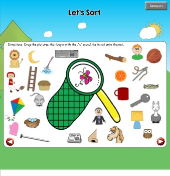 All About the Letter Nn {Letter of the Week SMARTboard Activities}