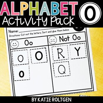 Letter O Activities