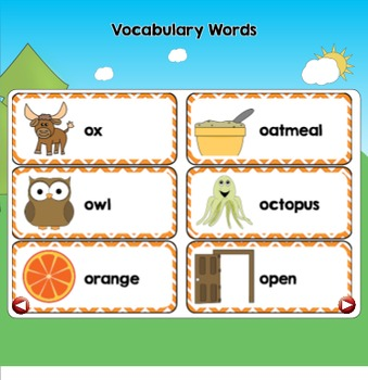 All About the Letter Oo {Letter of the Week SMARTboard Activities}
