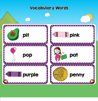 All About the Letter Pp {Letter of the Week SMARTboard Activities}