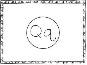 All About the Letter Qq