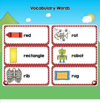 All About the Letter Rr {Letter of the Week SMARTboard Activities}