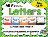 All About the Letter SMARTBoard Bundle 1