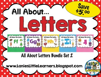 All About the Letter SMARTBoard Bundle 2