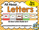 All About the Letter SMARTBoard Bundle 3