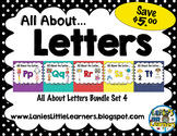 All About the Letter SMARTBoard Bundle 4