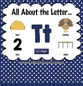 All About the Letter Tt {Letter of the Week SMARTboard Activities}