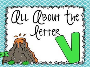 All About the Letter Vv
