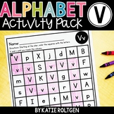 Letter V Activities
