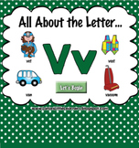 All About the Letter Vv {Letter of the Week SMARTboard Activities}