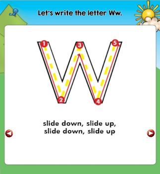 All About the Letter Ww {Letter of the Week SMARTboard Activities}