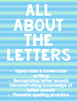 All About the Letters