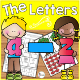 All About the Letters A-Z (an alphabet review)