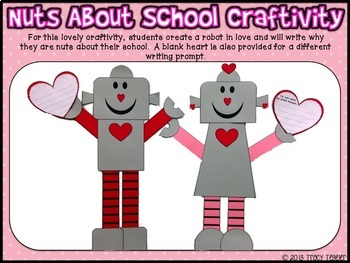 All About the Love Craftivities {Valentine's Day}