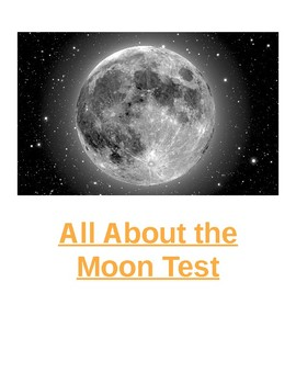 All About the Moon Test