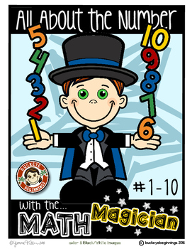 All About the Number 0-10  {Book, Poster ~ Interactive Not