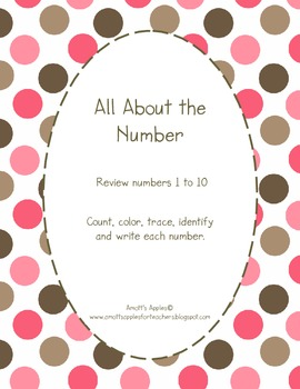 All About the Number, 1 to 10