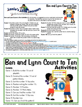 All About the Number 10 - Ben and Lynn Count to Ten