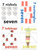 All About the Number 7 - Magic Seven Activity Pack