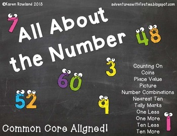 All About the Number... Common Core Aligned!