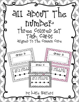 All About the Number {Math Task Cards Aligned to the Common Core}