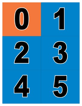 All About the Number Pocket Chart - Activity Printable
