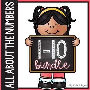 Numbers 1-10 Activities Bundle